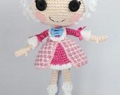 PATTERN: Suzette Crochet Amigurumi Doll