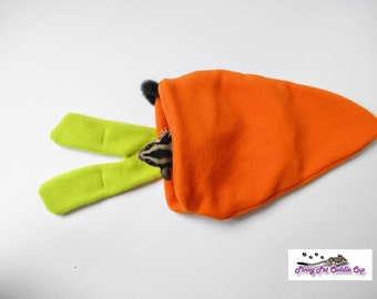 Sugar glider and rat carrot cage pouch