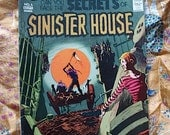 Secrets Of Sinister House No 6 Published 1972 When Is Tomorrow Yesterday Man Hater National Periodicals