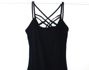 Custom Bamboo Strappy Cami Tank Top /Any Size /Made to Measure/ 6 Colors
