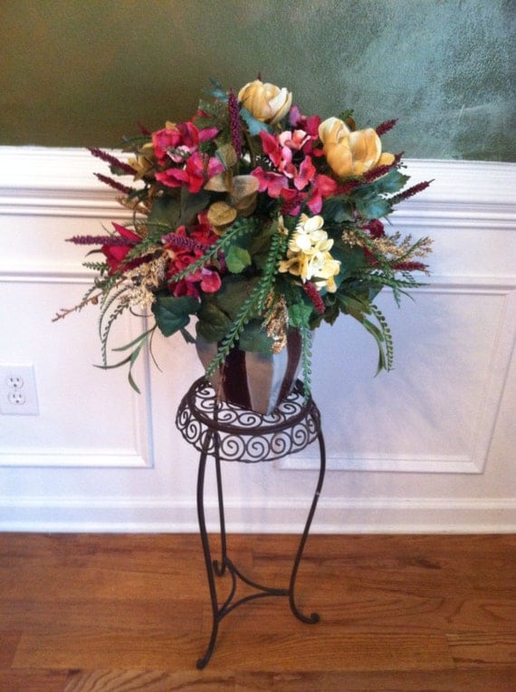 Large Arrangement For Foyer : Elegant traditonal floral arrangement foyer by