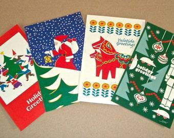 Holiday Postcard Assortment (set of 8)