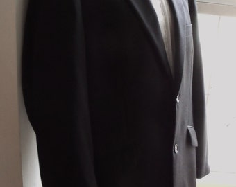Vintage 40 102 Tuxedo dinner jacket French Connection 80s/90s short fitting