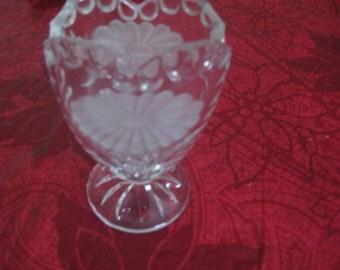 Leaded Glass Vase