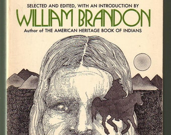 The Magic World - American Indian Songs and Poems Ed. william Brandon.  Morrow,1971, 1st Ed., Like New Condition