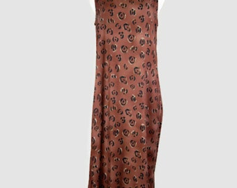 Vintage 1990s Sleeveless Summer Maxi Dress by Notations