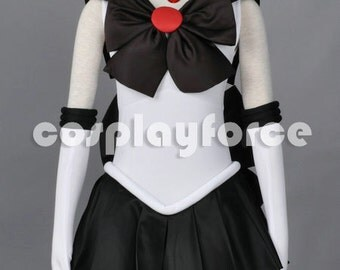 Sailor Moon Sailor Pluto  Cosplay Costume With Two Headwears