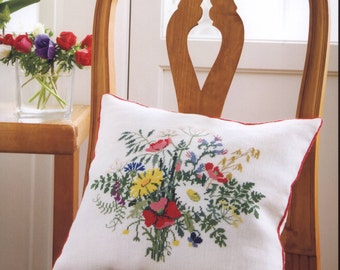 Cross stitch embroidery - embroidery patterns - botanical - japanese embroidery - ebook - PDF - instant download
