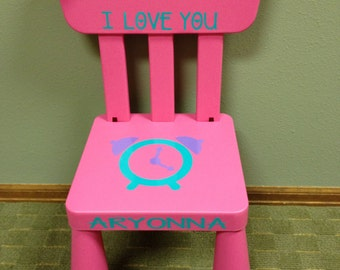SALE Personalized Time Out Chair With Timer