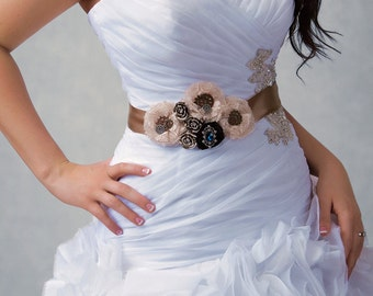 Asia - custom steampunk clockwork sash