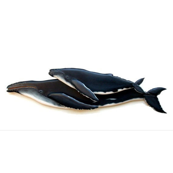 Whale Wall Decor Wall Hangings 48 39 39 Wood Carving