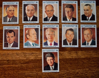 Presidential Card Series 1991 Edition  /  Full 41 Card Set