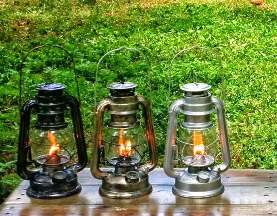 Med size wedding lanterns handpainted metal by