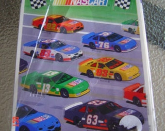 Heartline Hallmark NASCAR Stickers Race Car NEW!