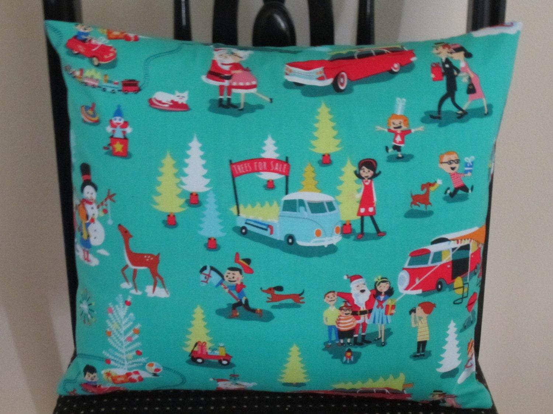 Mid Century Modern Christmas Pillows : MId Century Christmas Pillow Christmas Pillow Holiday