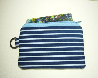 sale Stripes, gift for men, change wallet, handmade, portemonnaie, zip coin purse id1330773, card wallet, handmade, small zip pouch,