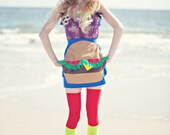 New York Couture Limited Edition Royal Blue BURGER Skirt