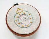 Kitschy Christmas Baubles - Pattern PDF for Hand Embroidery