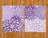 Lila Blume Burst Lavendel lila Wand Baby Kinderzimmer Dekor Schlafzimmer Badezimmer Wohnzimmer druckbare 8 x 10 JPG Dateien sofortigen Download (118)