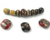 Orphan Lampwork Assortment of Elemental Beads #2 - SRA