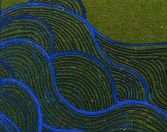 Deep Waters print