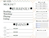 BUNDLE Style TWO - Personal Size planner pages