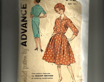 Advance Misses' Dress Pattern 9429