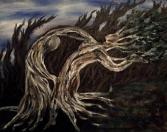 Slow Dance, Original Oil Painting Print, Surreal Painting, Oil Painting Print, Art, Paintings, Surreal Art