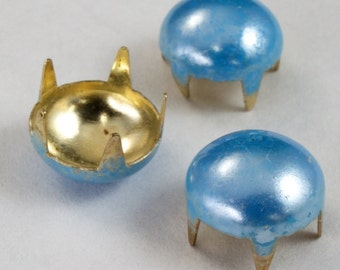 10mm Baby Blue Dome Stud (20 Pcs) #2379