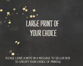 Custom Large Print on Paper