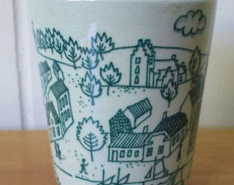 vintage Danish modern cup