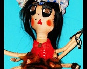 """Custom portrait dolls of """"Gawds of the Orient"""" Kali,Durga,tears of Budah or any of your choice   (made to order)"""