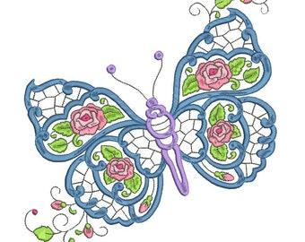 Flowered Butterflies