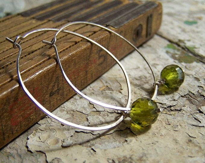 Clearance Sale: **READY TO SHIP** Classic Hoops- Grass. Choose your finish.