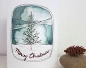 Christmas Tree // Christmas Card // Merry Christmas