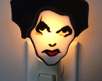 Robert Smith The Cure Night Light by Glass Action