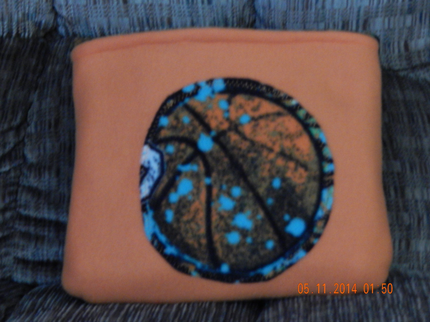 Quillow Blanket That Folds Into A Pillow Basketball