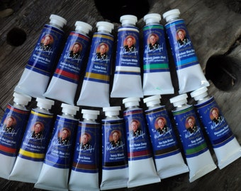 wilson bickford oil paint one of each color available 37 ml tubes
