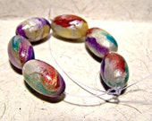 11x22mm handmade oval polymer clay beads