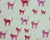 Cotton + Steel Hatbox - Tiger Stripes pink