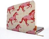 "Laptop Case - 15"" MacBook Pro or MacBook Pro with Retina Display - Wild Horses"