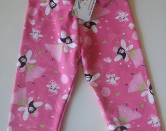 2T Fairy Leggings French Terry Fabric