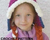 Instant Download PRINCESS ANNA Hat Pattern - Crochet Pattern