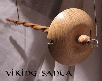 Viking Santa Drop Spindle LG 05544e