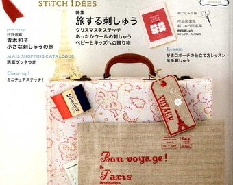STITCH IDEAS Vol 18 - Japanese Embroidery Craft Book (SAL)