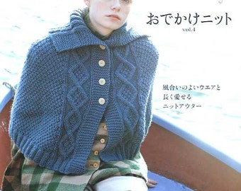 Hand Knit Story Vol 4 - Japanese Craft Book