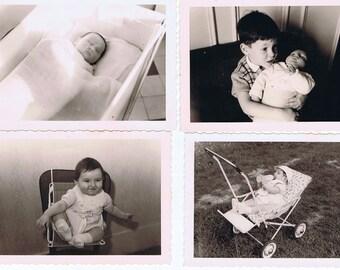 Vintage Photographs.Baby.Scrapbooking.Paper Ephemera.Retro.Craft Projects.artists.collage.art.black and white.portraits.old school.paris