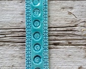 The Seven Chakras Ceramic Tile In Turquoise