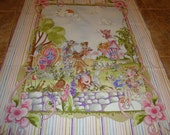 ON SALE Loralie Designs Very Fairy Cotton Fabric Panel and Border