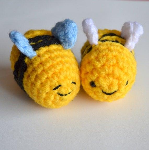Amigurumi Bee Crochet Pattern : Busy Buzzy Bee Amigurumi Crochet Pattern